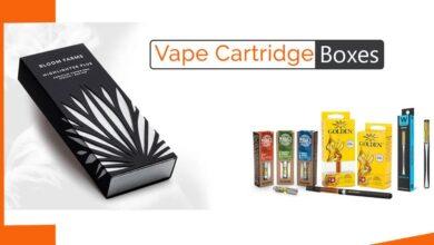 Vape Cartridge Packaging Design