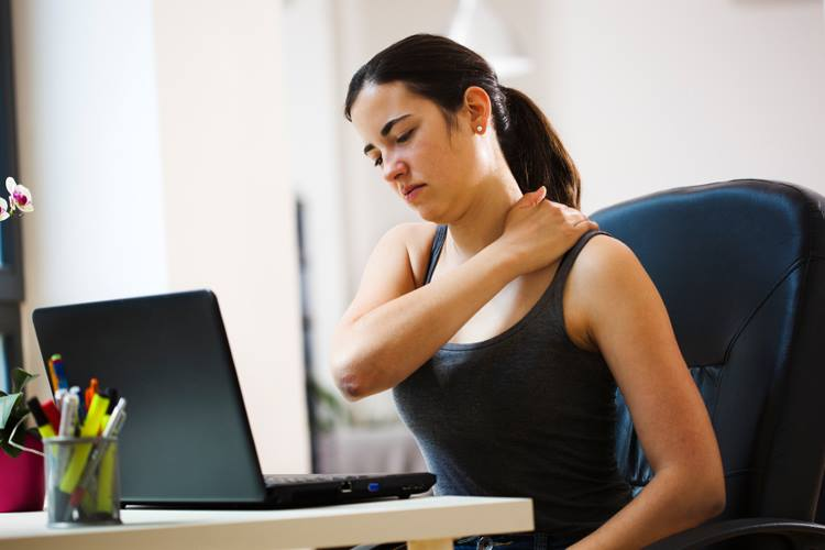 A Sedentary Workplace