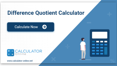 Difference Quotient with Fractions